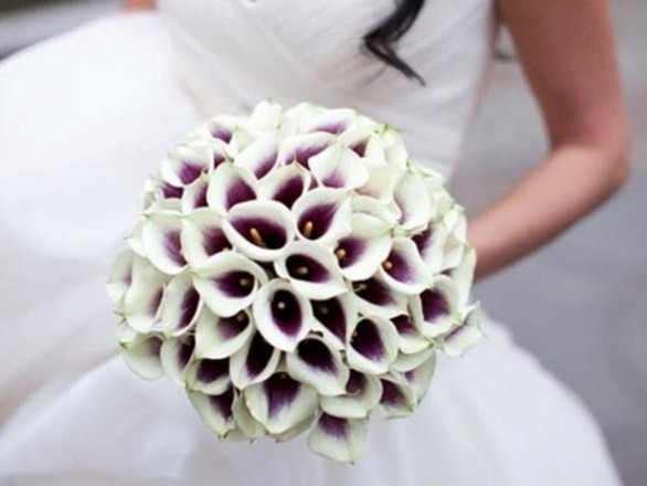 bouquet sposa con calle colorate