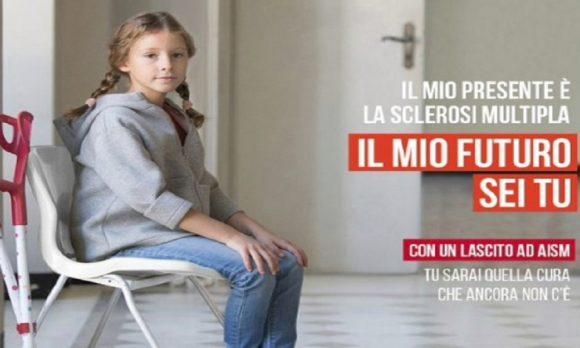 """Sclerosi multipla, la nuova campagna sui lasciti """"Tu sei futuro"""" da Aism"""