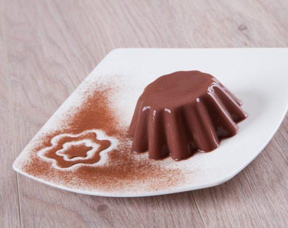 Budino al cioccolato fatto in casa
