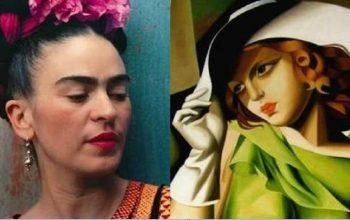 Frida Kahlo e Tamara De Lempicka