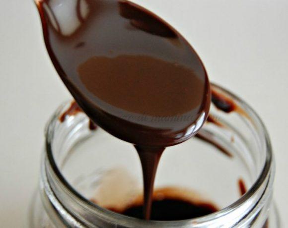 Topping al cioccolato fatto in casa