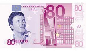 Bonus 80 euro, nove miliardi all'anno