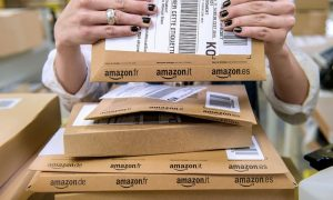 Pacco Amazon con droga