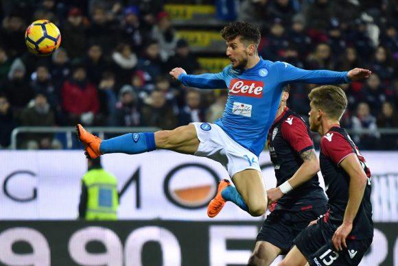 Il Napoli travolge il Cagliari e vola sulle ali dell'entusiasmo CAGLIARI-NAPOLI 0-5