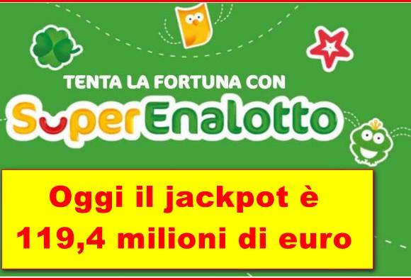 Jackpot 27 marzo