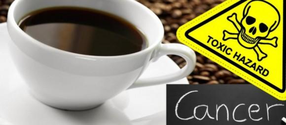 Caffè come le sigarette, può provocare il cancro