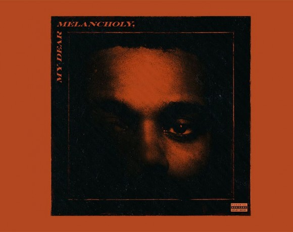 copertina di My dear melancholy, nuovo album di The Weekn