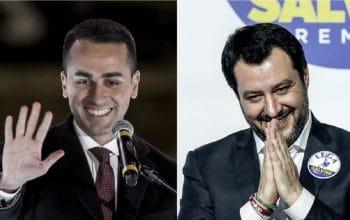 Il duello di Salvini - Di Maio verso il governo