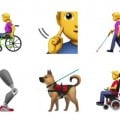 Apple emoticon disabili