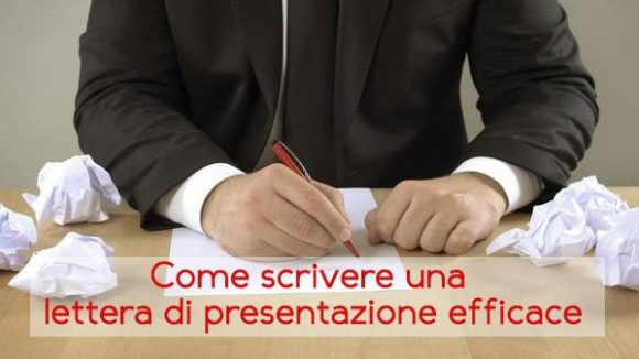 Come scrivere una lettera di presentazione efficace: ecco alcuni consigli