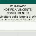 Attenzione alla falsa lotteria Whatsapp: non esiste
