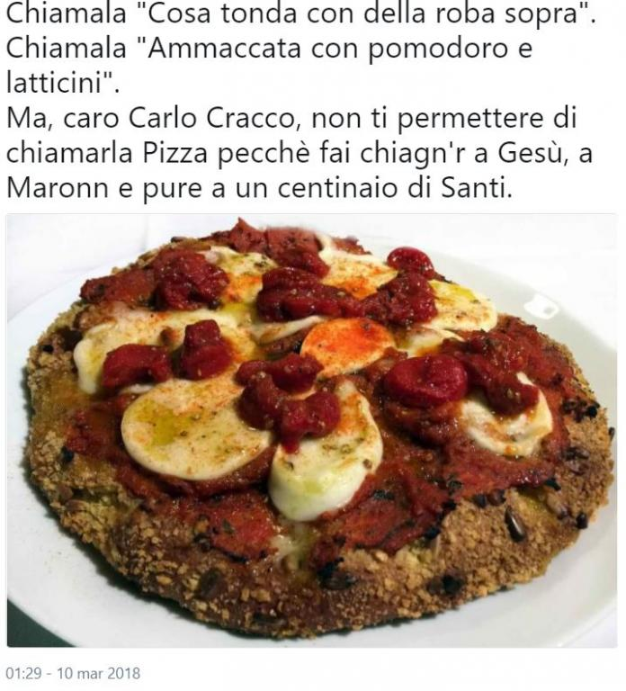 pizza cracco