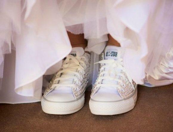 sneaker da sposa nuovo trend moda