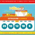 MillionDay: nel concorso del 12 aprile Vinto1 Milionedi euro
