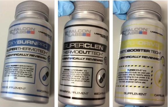 Integratori Falcon Labs ritirati per pericolosi steroidi