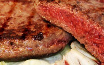 L'hamburger va cotto bene