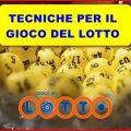 Tecniche per il Lotto – La prima punta in alto!