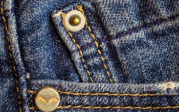 bottoni tasche jeans