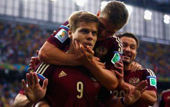 Esultanza Russia Mondiali