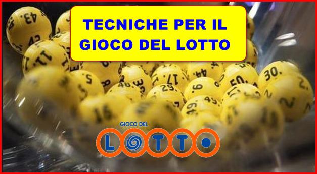 Tecniche per il Lotto – Tre ambi secchi per segnare!