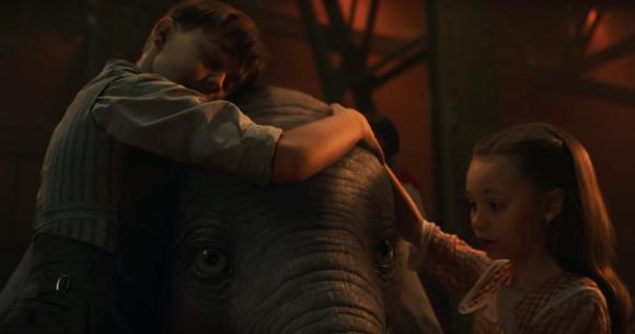 Ecco il primo trailer del live action Dumbo di Tim Burton