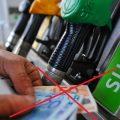 Stop Contanti carburante