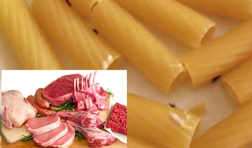alimenti con parassiti e carne contaminata