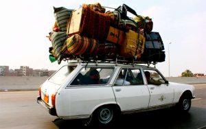 bagagli auto