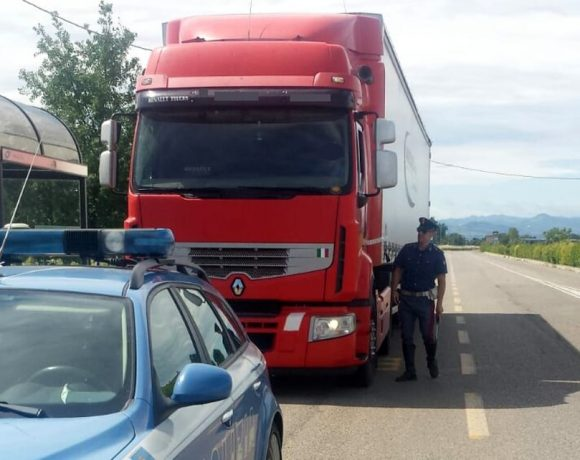 autotrasportatore multato