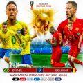 Mondiali 2018: Brasile - Belgio. Miglior attacco contro miglior difesa e non solo. Curiosità e prono...