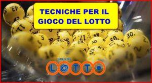 tecnica Lotto