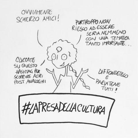La presa della cultura: un hastag per una rivoluzione