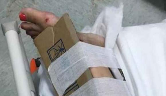 Steccature e ingessature con il cartone all'Ospedale, una situazione inverosimile