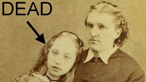 Le inquietanti foto Post mortem dell'epoca vittoriana