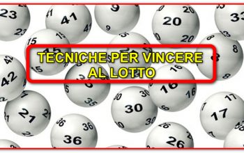 tecnica per vincere al Lotto