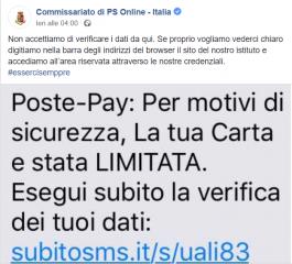 Poste italiane allerta hacker: attenzione ai vostri conti online