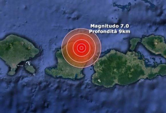 Terremoto nel mondo, ancora l'Indonesia con 3 morti, grande probabilità di uno tsunami a breve