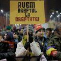 protesto a Bucharest