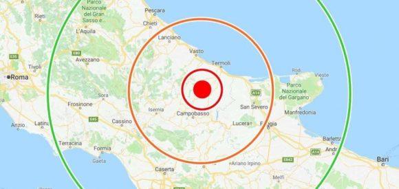 Terremoto in Molise, la seconda scossa del 16 agosto