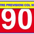 Caccia aperta al 90 – Tre previsioni pronte a tutto