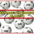 Tecniche per vincere al Lotto – Settembre ha i numeri giusti