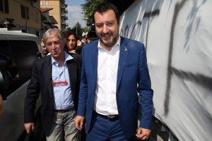 Sergio Bramini con Salvini