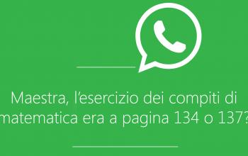 gruppo whatsApp dei genitori