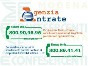 Agenzia delle Entrate: ecco quali sono i nuovi numeri verdi gratuiti