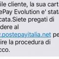 Truffa postepay evolution