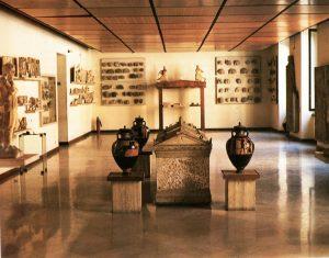 sala del museo di taranto