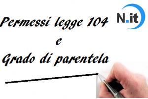 Legge 104 e grado di parentela