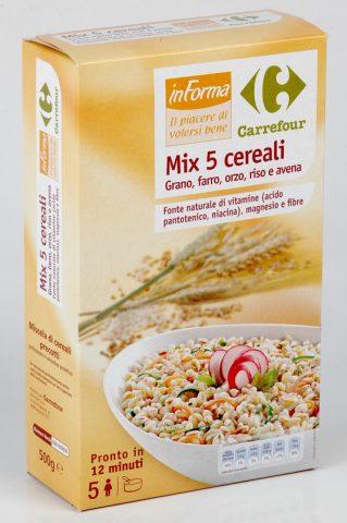 Mix 5 cereali richiamato per la presenza di Bacillus Cereus, ecco marca e lotto
