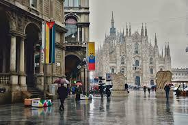 Milano. maltempo