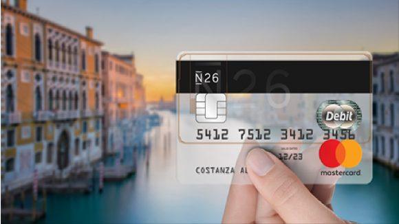 La Banca N26 conquista gli utenti con una promozione da capogiro